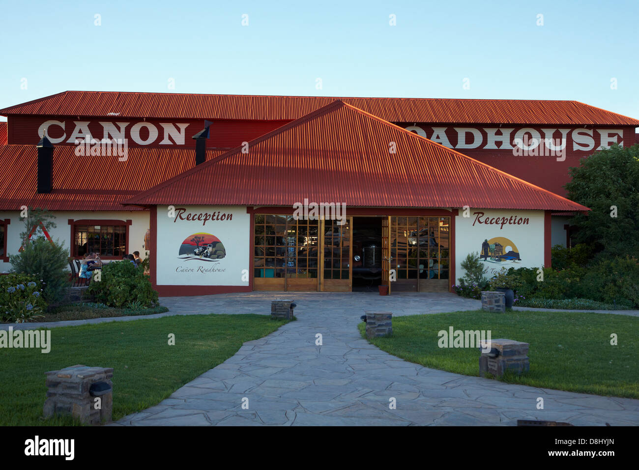 Canon Roadhouse, near Fish River Canyon, Southern Namibia, Africa - Stock Image