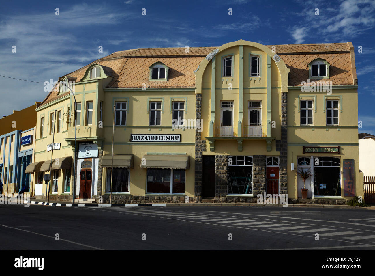 German Colonial Architecture Stock Photos German Colonial