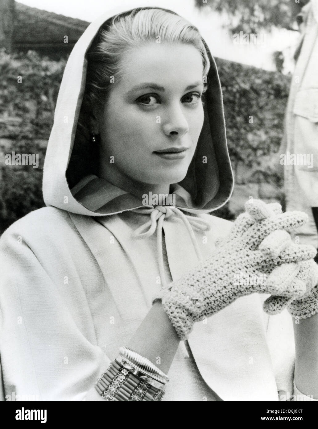 GRACE KELLY (1929-1982) US film actress and later Princess of Monaco about 1956 - Stock Image