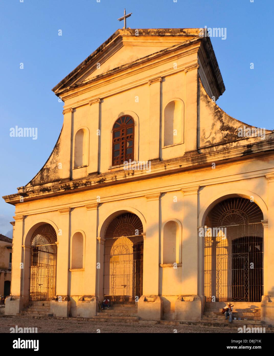 Iglesia Parroquial de la Santissima Trinidad, Trinidad, Cuba, Caribbean - Stock Image