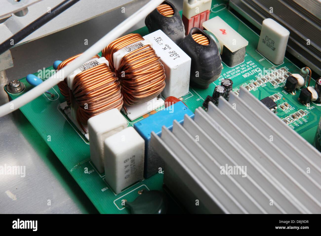 computer hardware - Stock Image