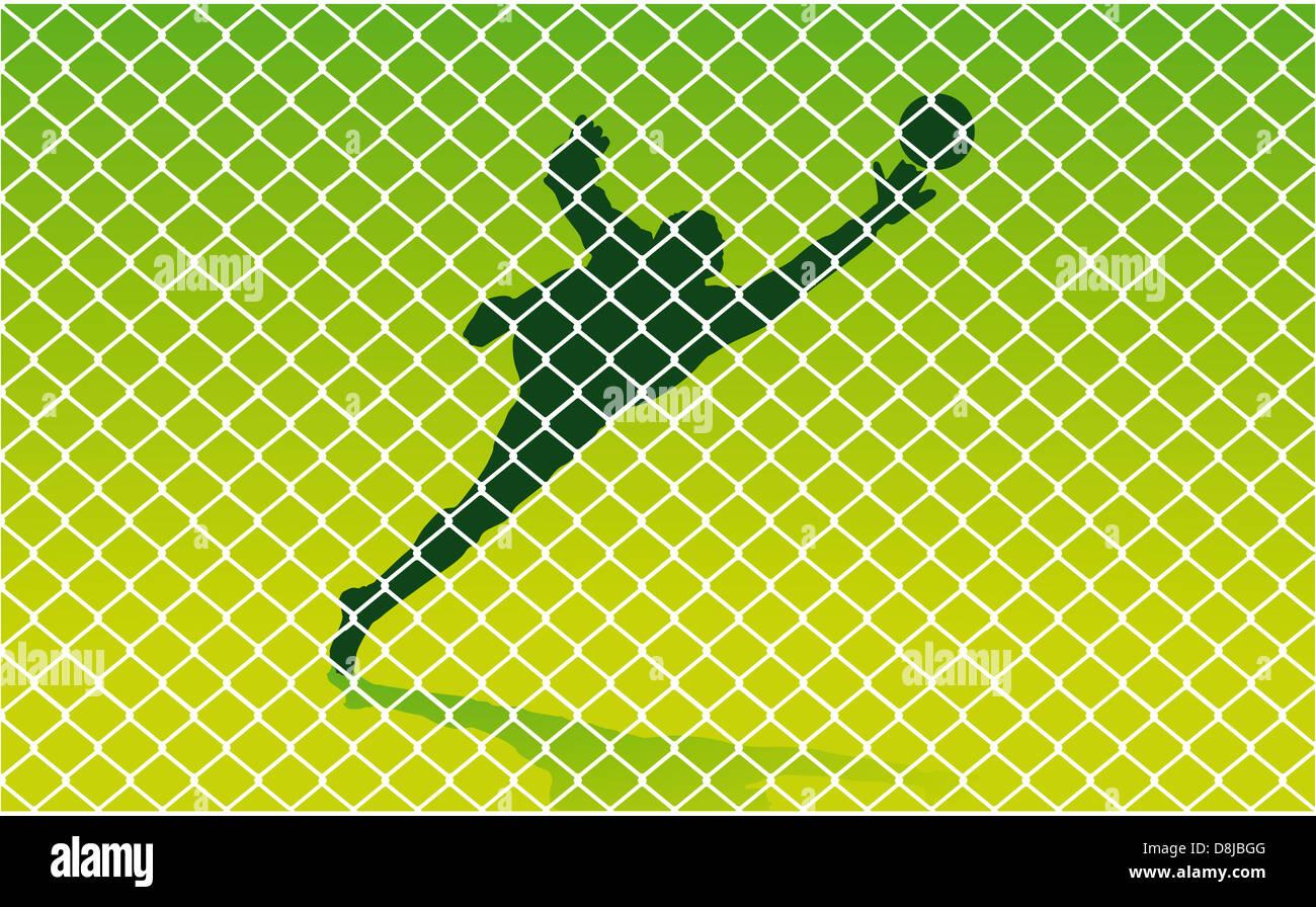 Goalkeeper - Stock Image