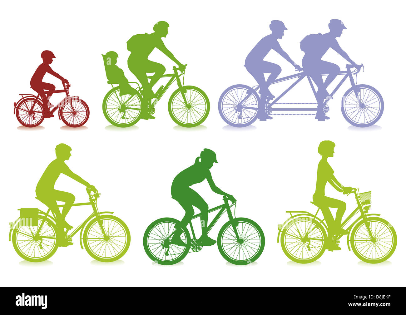cycling - Stock Image