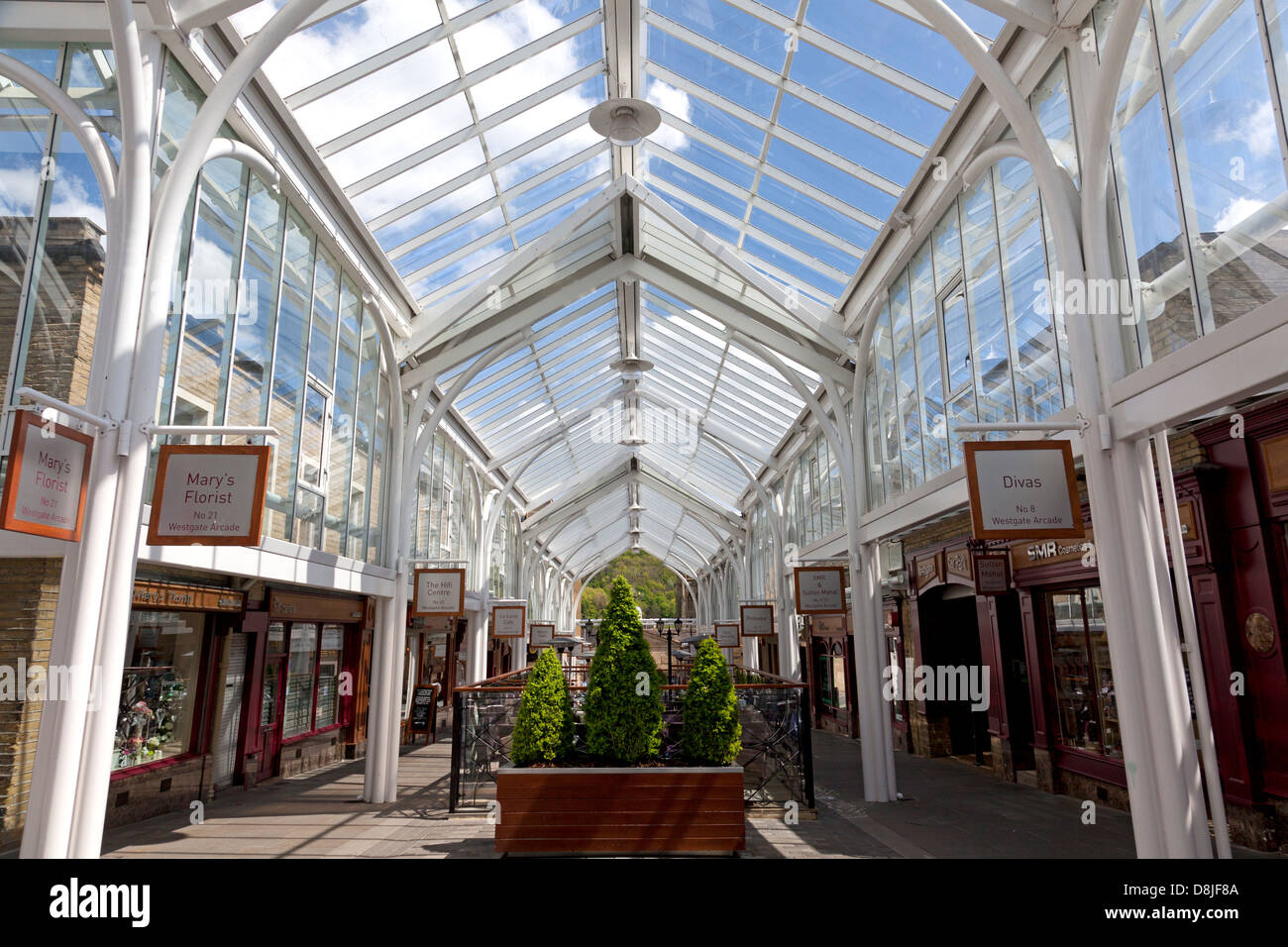 westgate arcade halifax west yorkshire stock photo 56955482 alamy