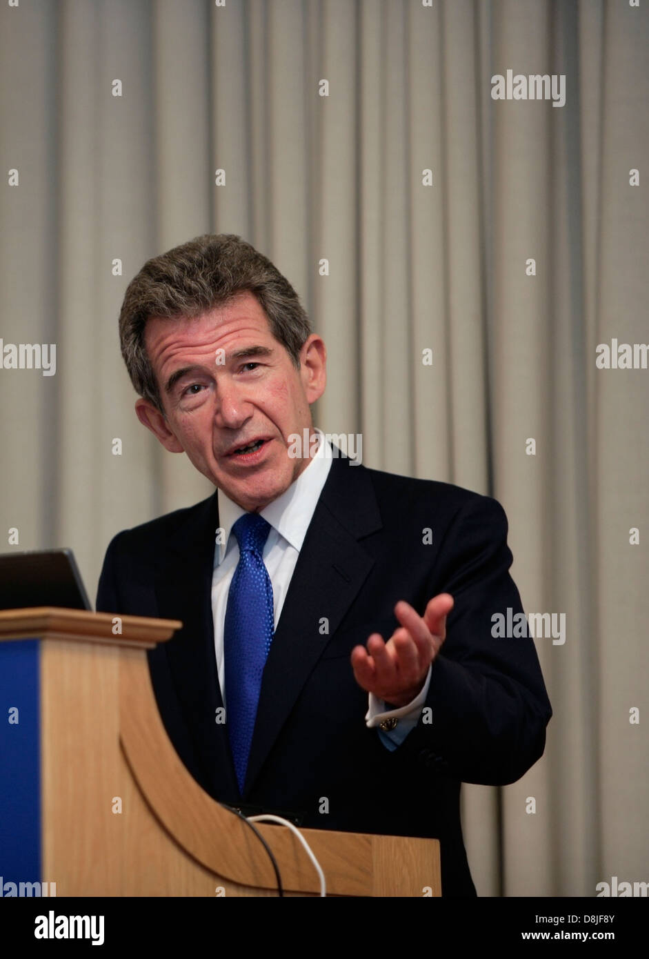 Lord John Browne, former Chief Executive of BP. - Stock Image