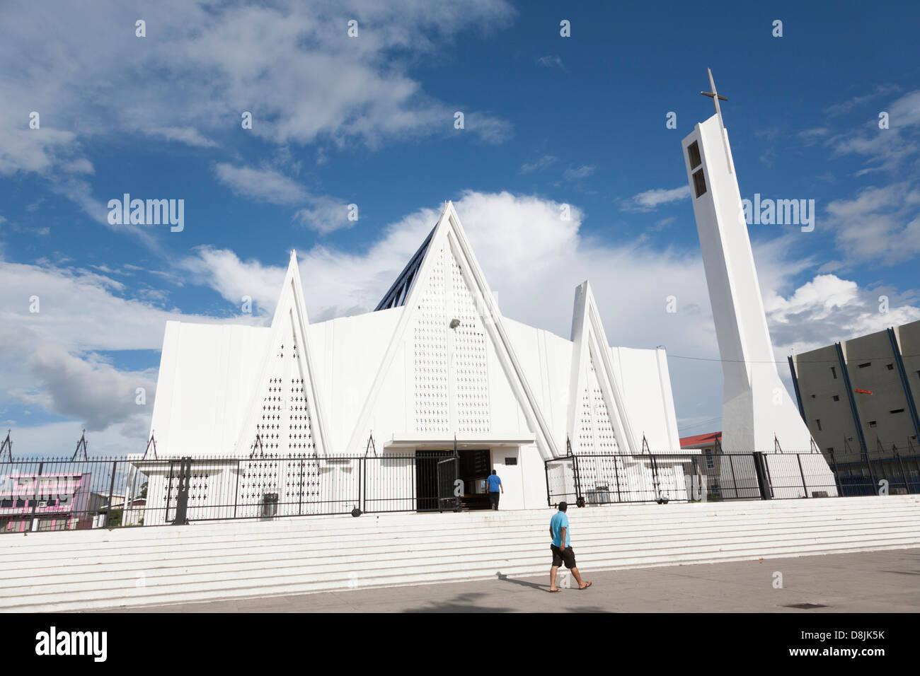 Iglesia Immaculada Concepción de María , Liberia, Costa Rica - Stock Image