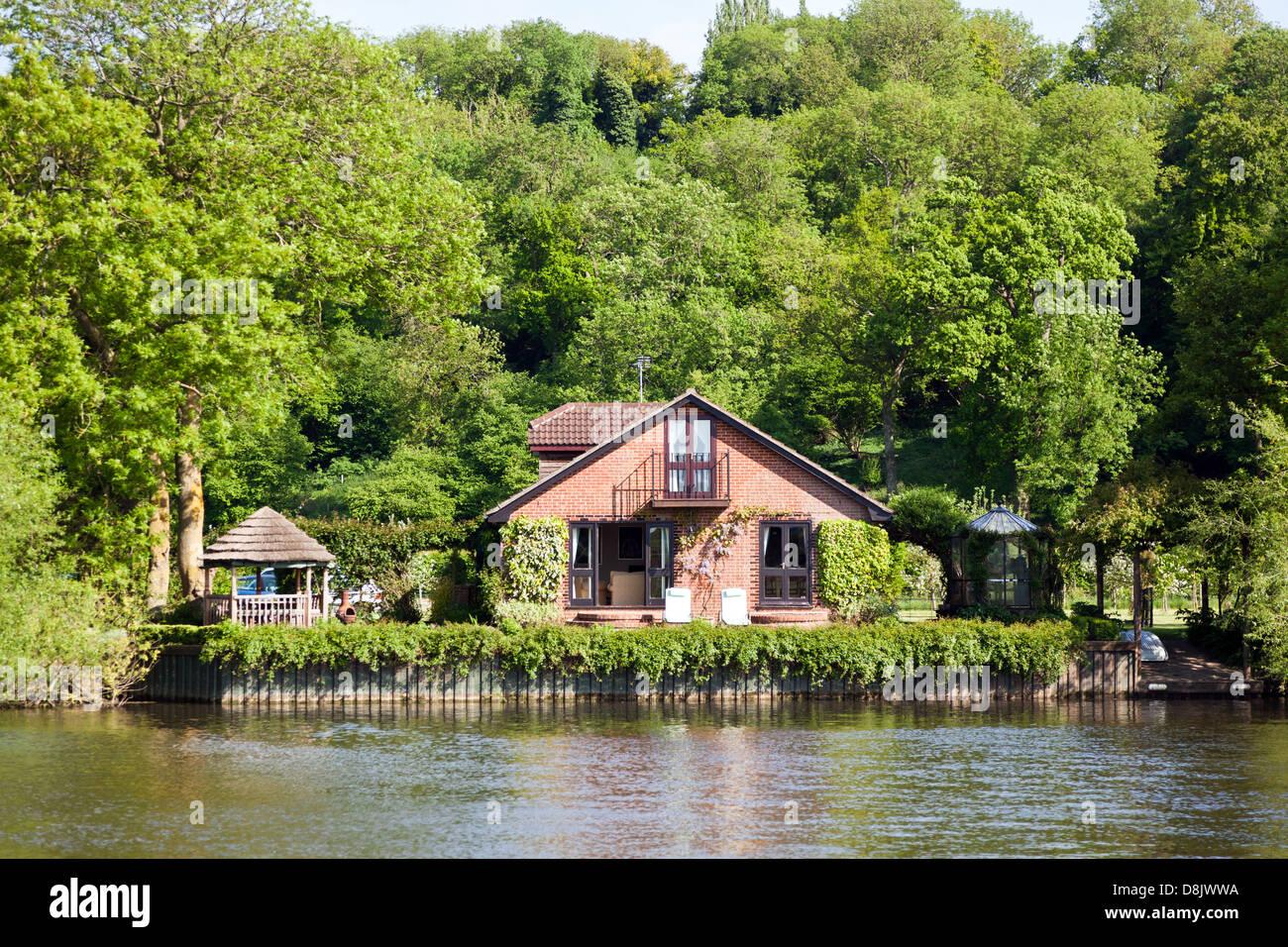 Riverside House  Marlow UK Stock Photo