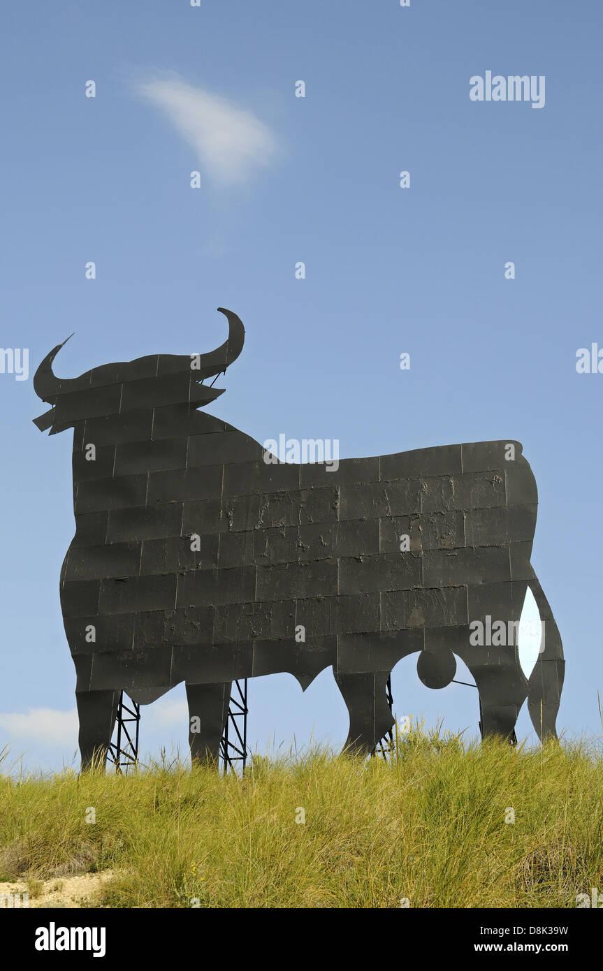Jerez Osborne Bull - Stock Image