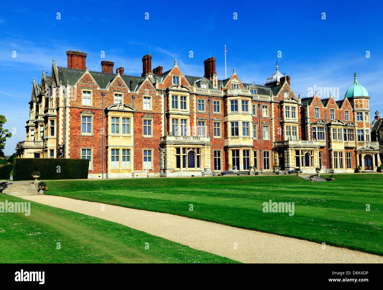 Sandringham House Norfolk Country Retreat Of Hm The Queen 19th Century British Victorian Architecture England Uk