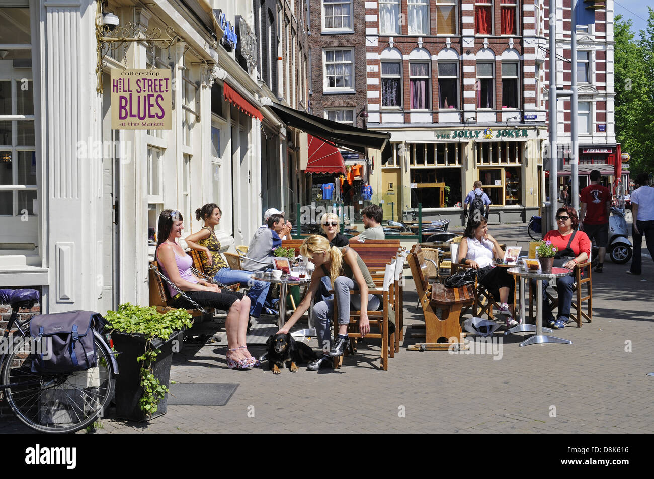 Street Cafe - Stock Image