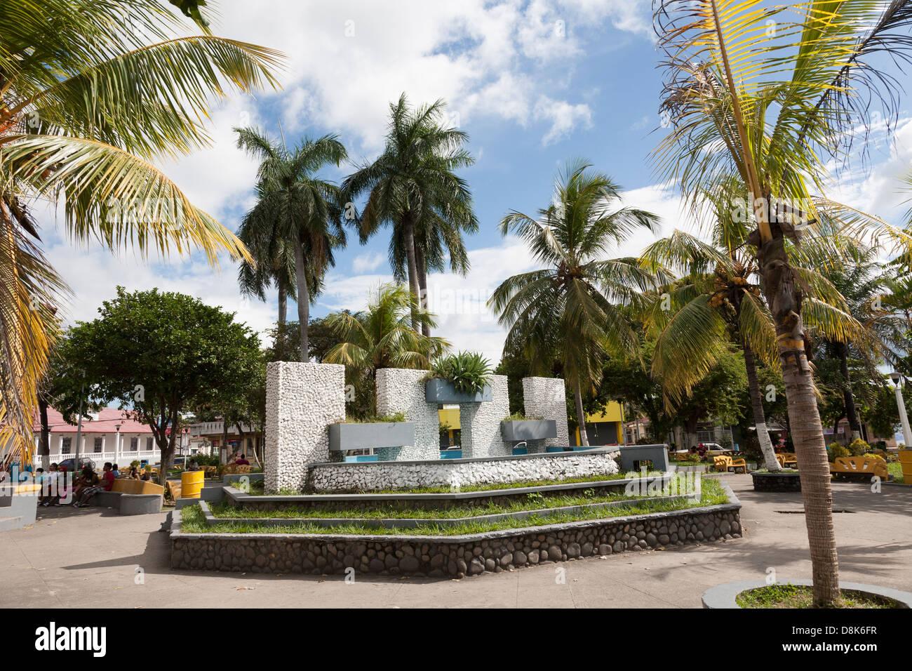 Parque Central, Liberia, Guanacaste, Cosata Rica - Stock Image