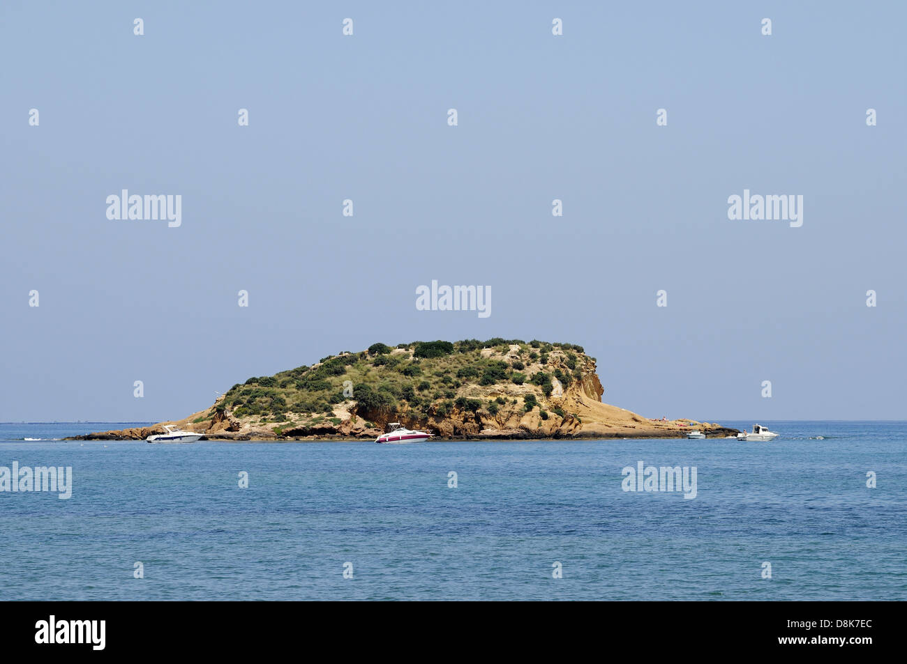 kleine Insel - Stock Image