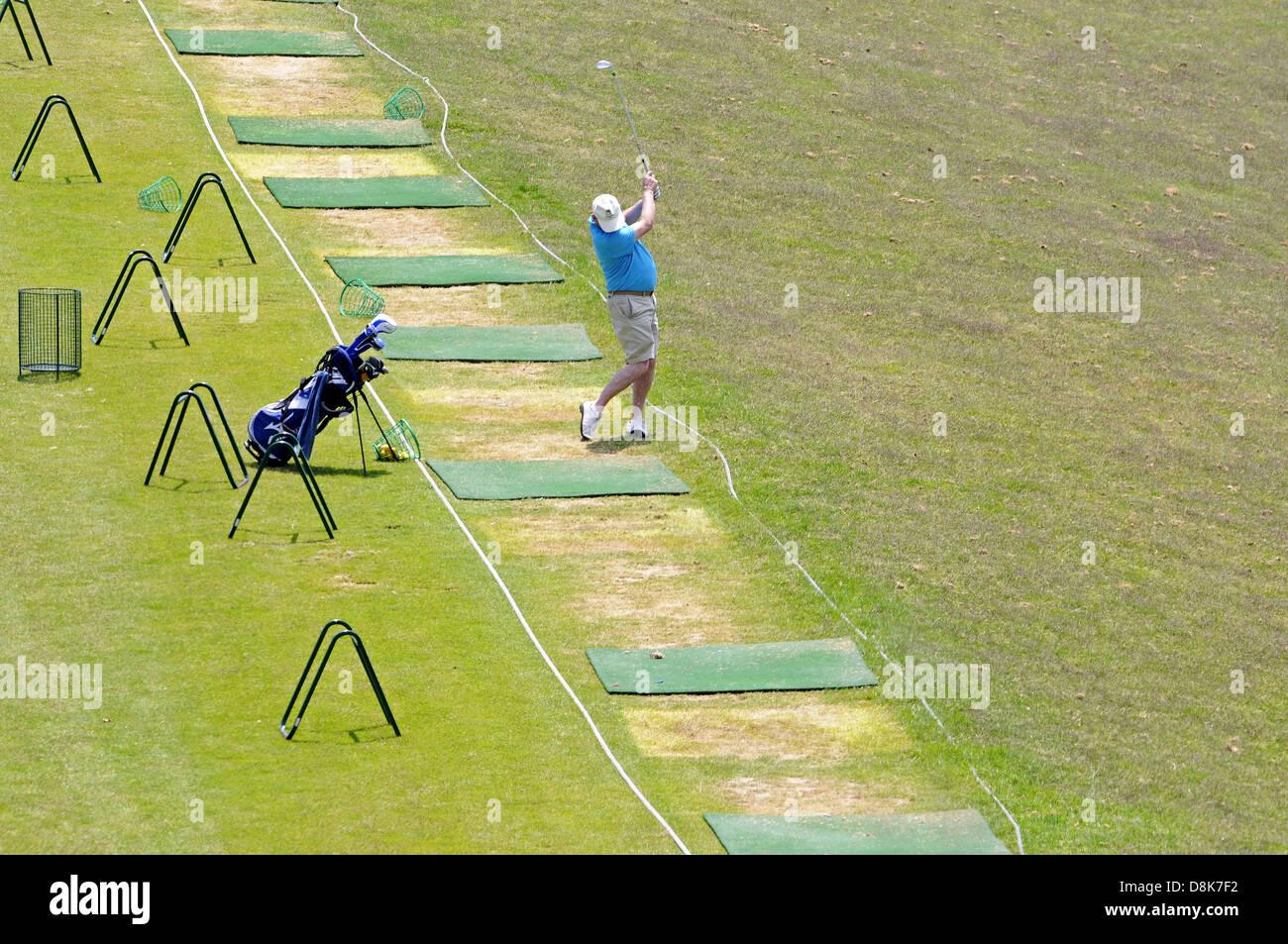 Golf Players - Stock Image