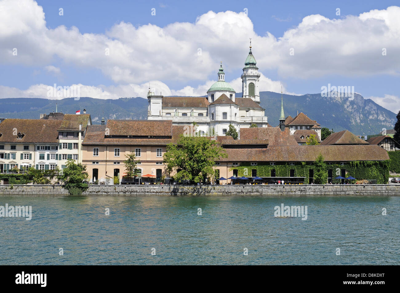 River Aare - Stock Image