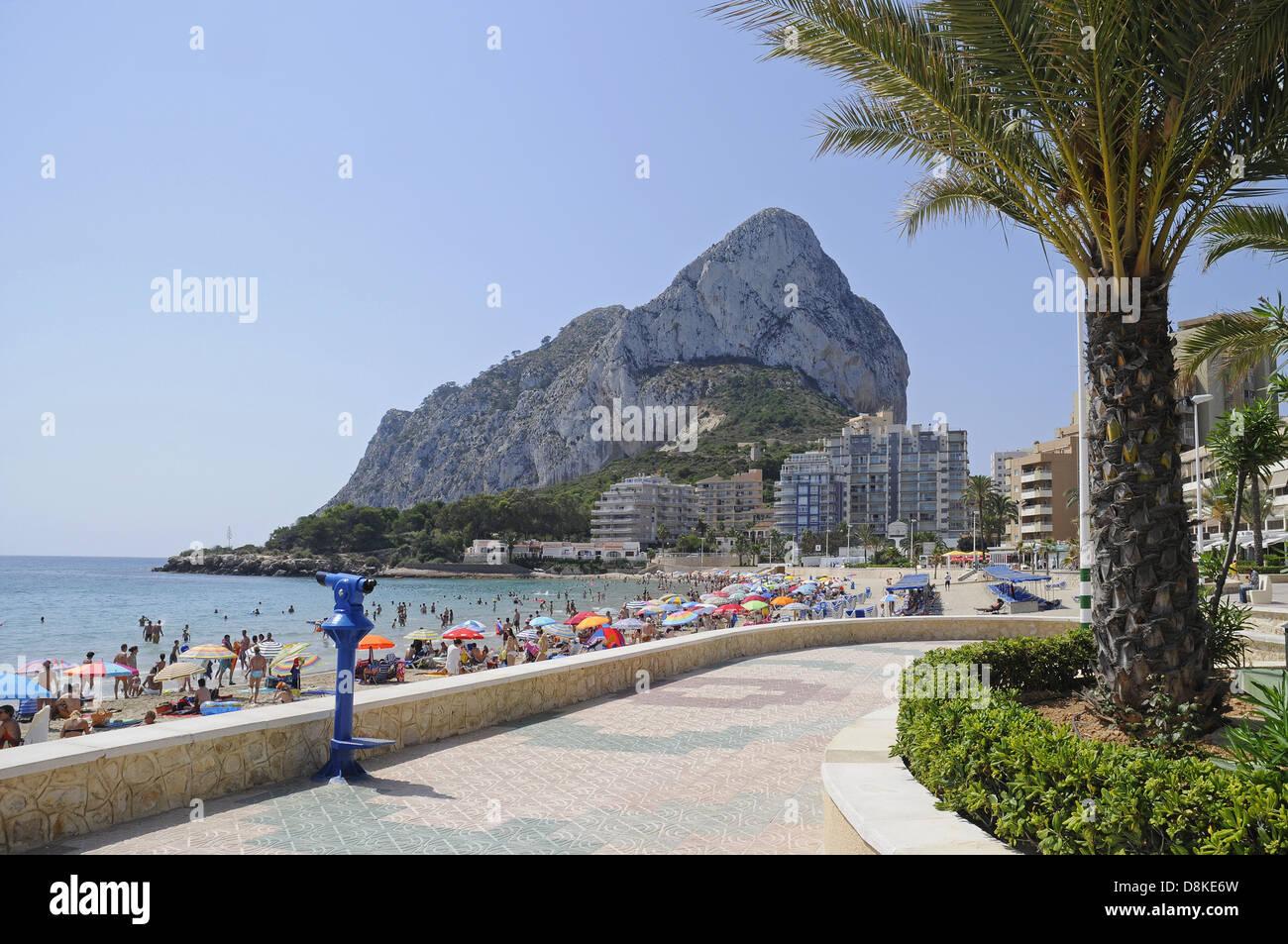 Playa La Fossa - Stock Image