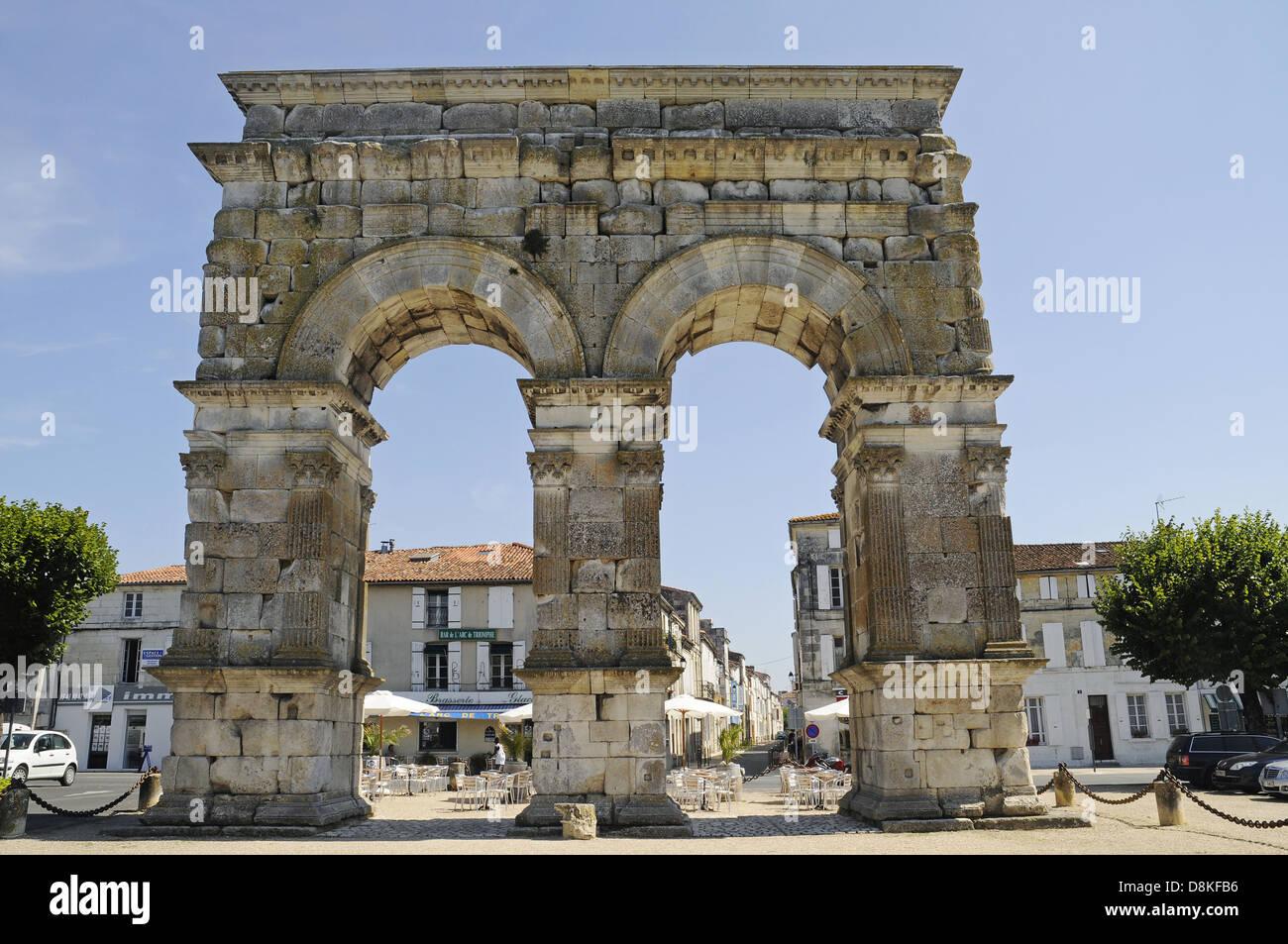 Arc de Germanicus Stock Photo
