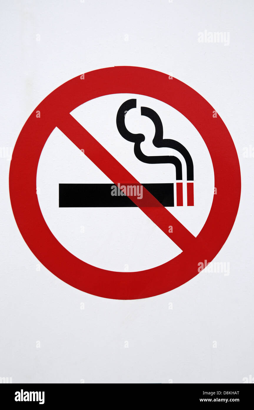 No smoking - Stock Image