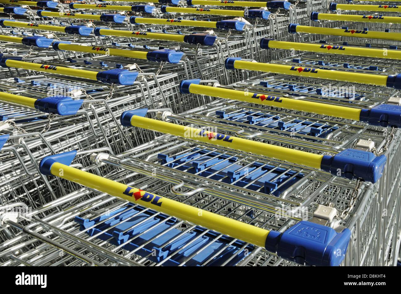 Shopping Cart - Stock Image