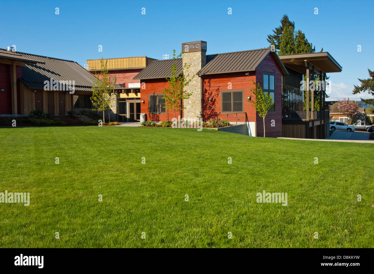 Rosehill Community Center, Mukilteo, Washington, USA - Stock Image
