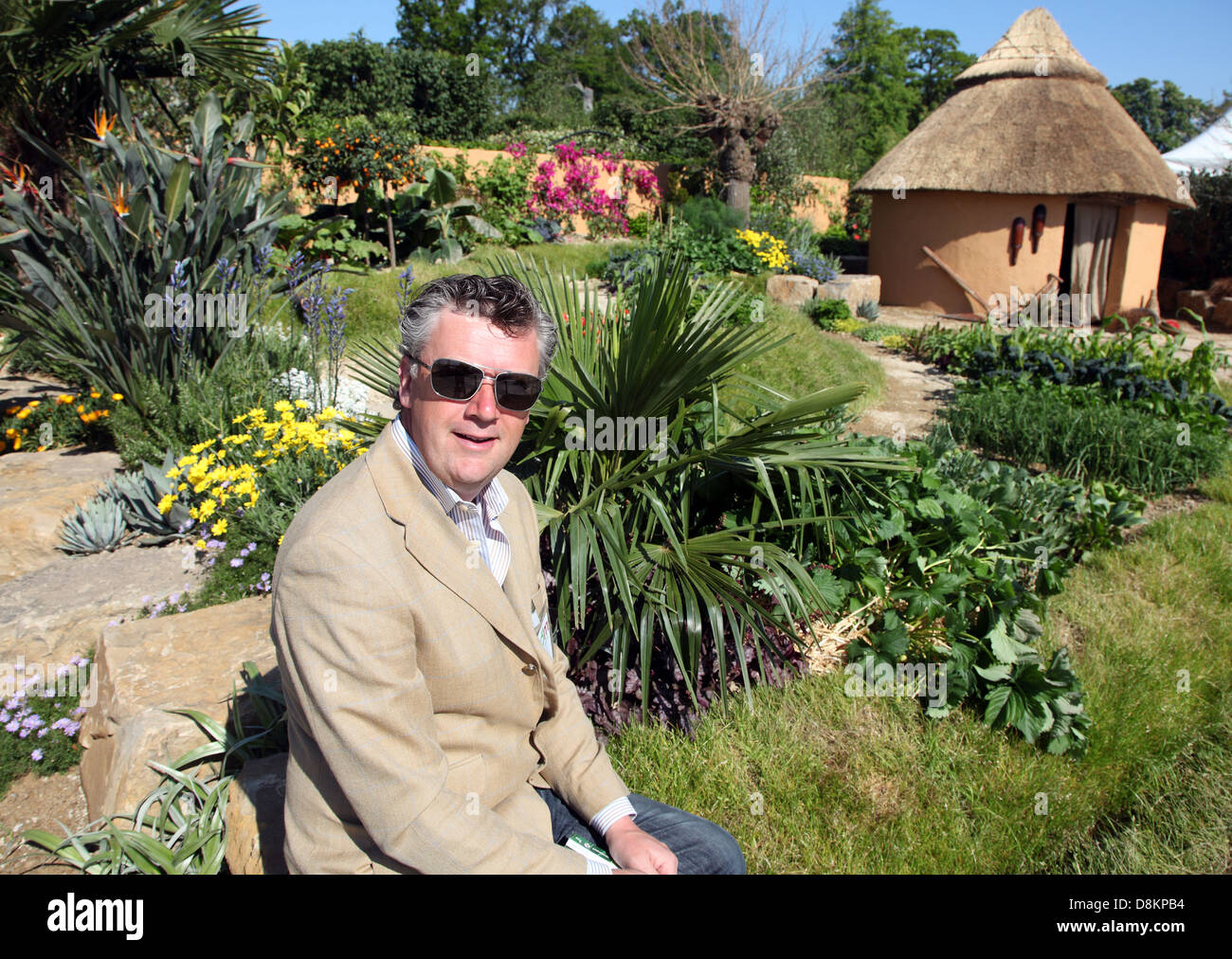 Paul Martin's Gold Medal-winning Concern Worldwide 1000 Days Garden for The Kerry Group, Bloom in the Park, - Stock Image