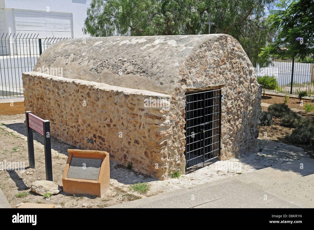 La Capella de Sa Tanca Vella - Stock Image