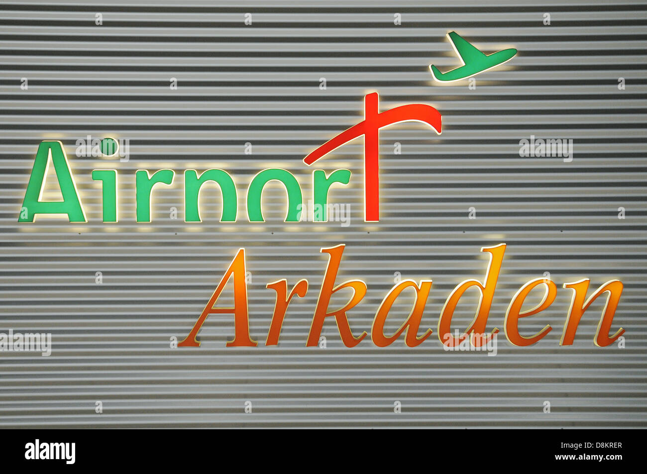 Airport Arkaden - Stock Image