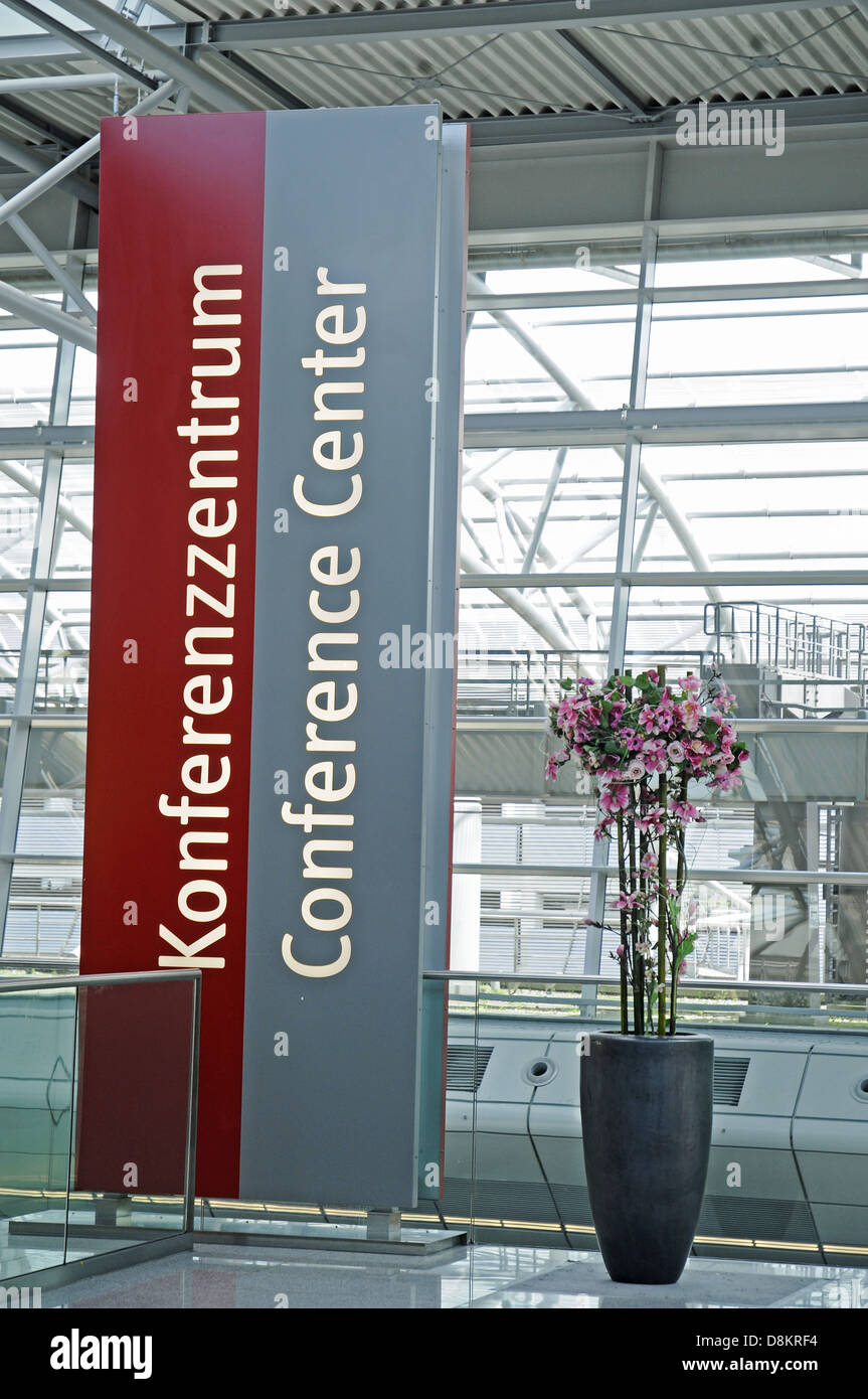 Conference Centre Stock Photo