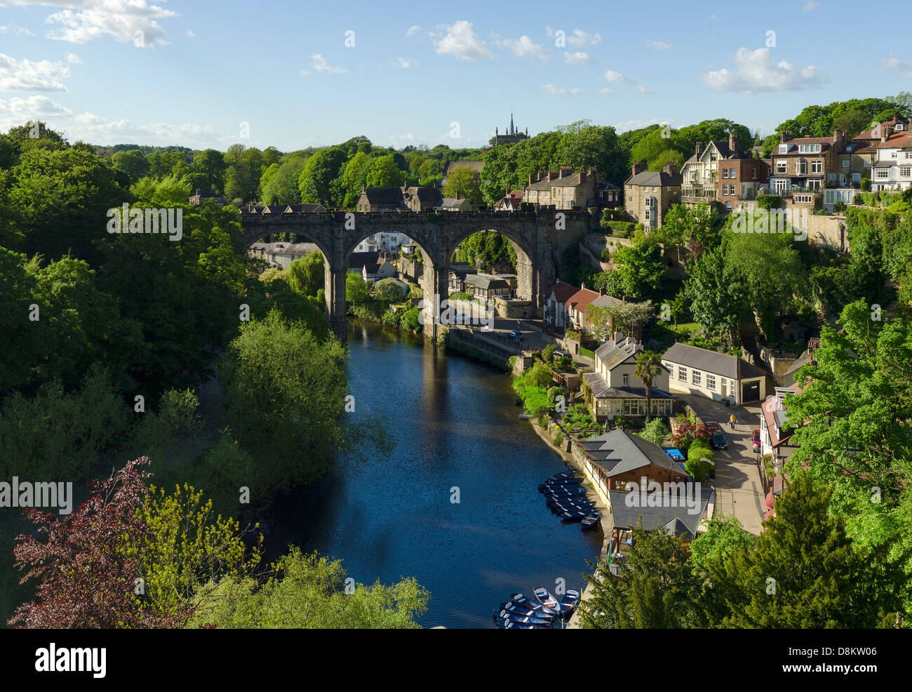 Knaresborough Viaduct - Stock Image
