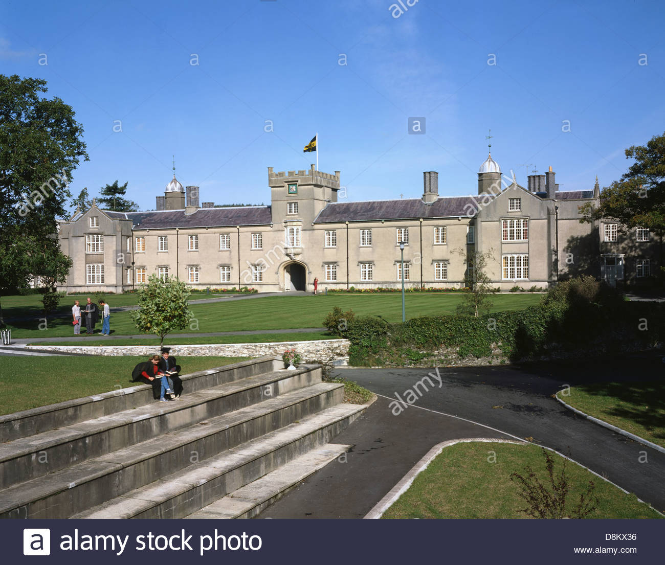 University Of Wales Trinity Saint David Lampeter Ceredigion Stock