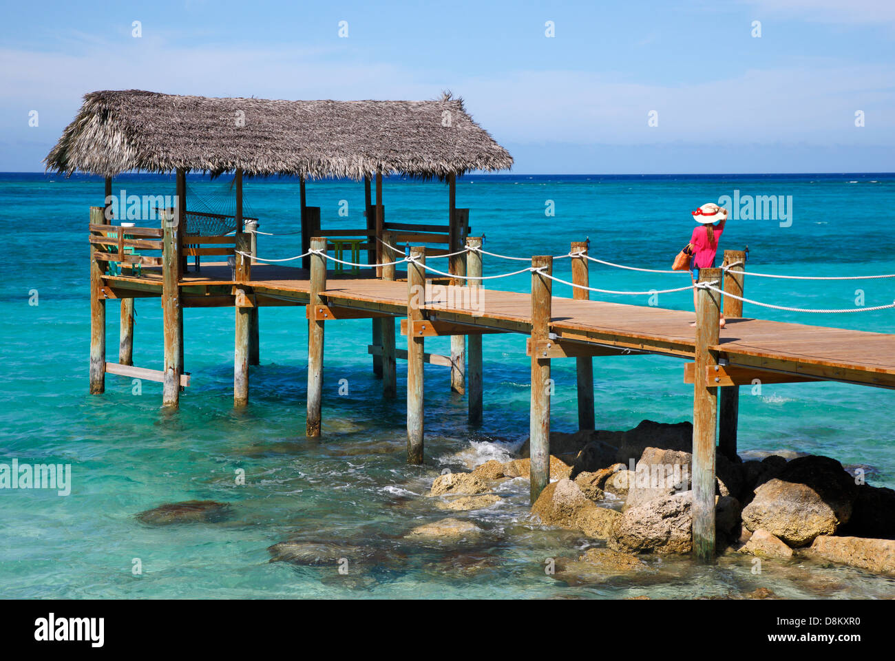 Compass point, Nassau Bahamas. - Stock Image