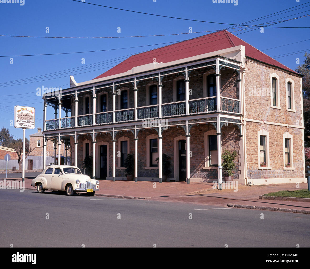 Historic old town building, York, Federal Division of Pearce, Western Australia, Australia. - Stock Image
