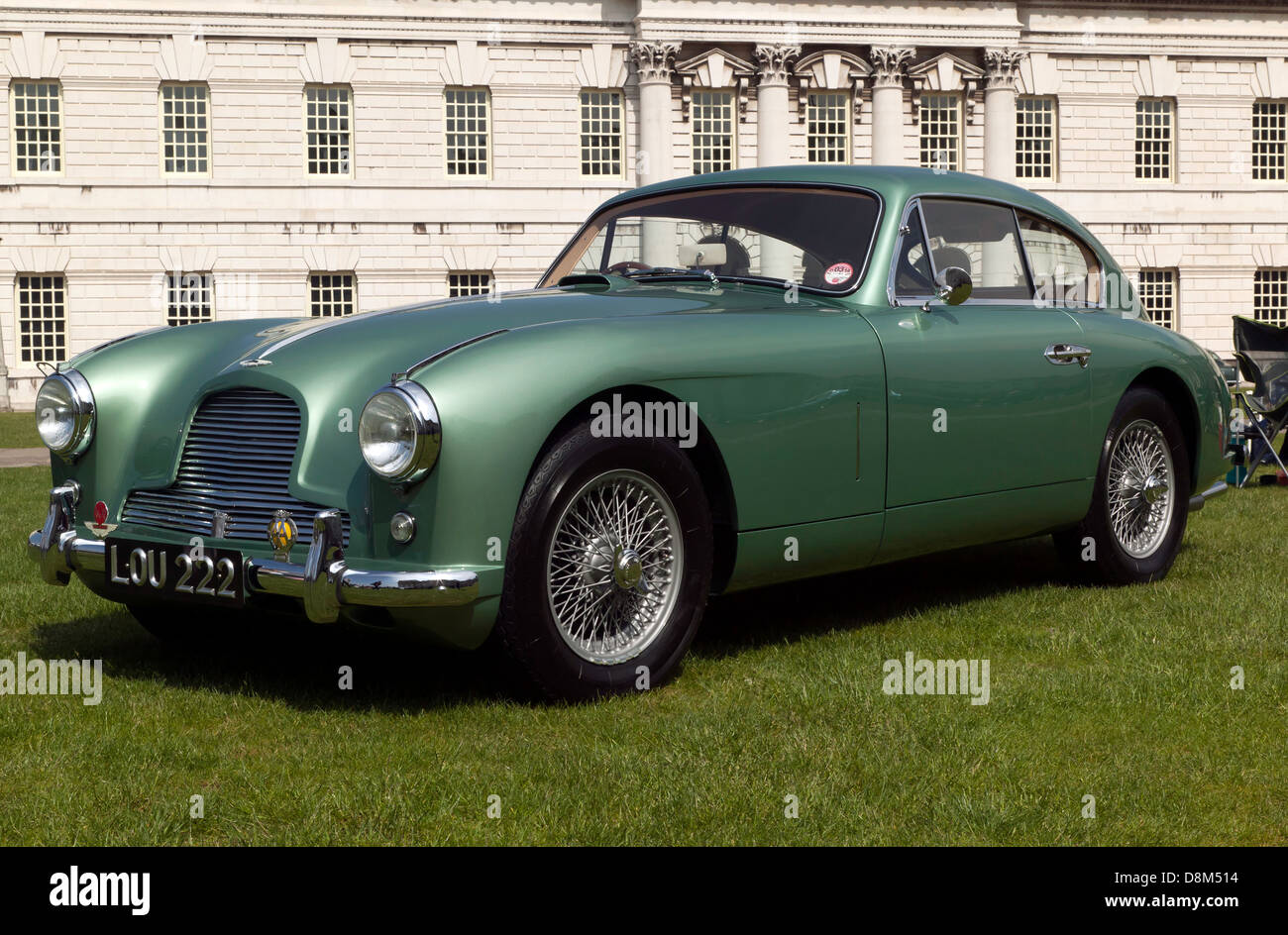 A Beautiful Example Of A Vintage Aston Martin Db2 On Display At The Stock Photo Alamy