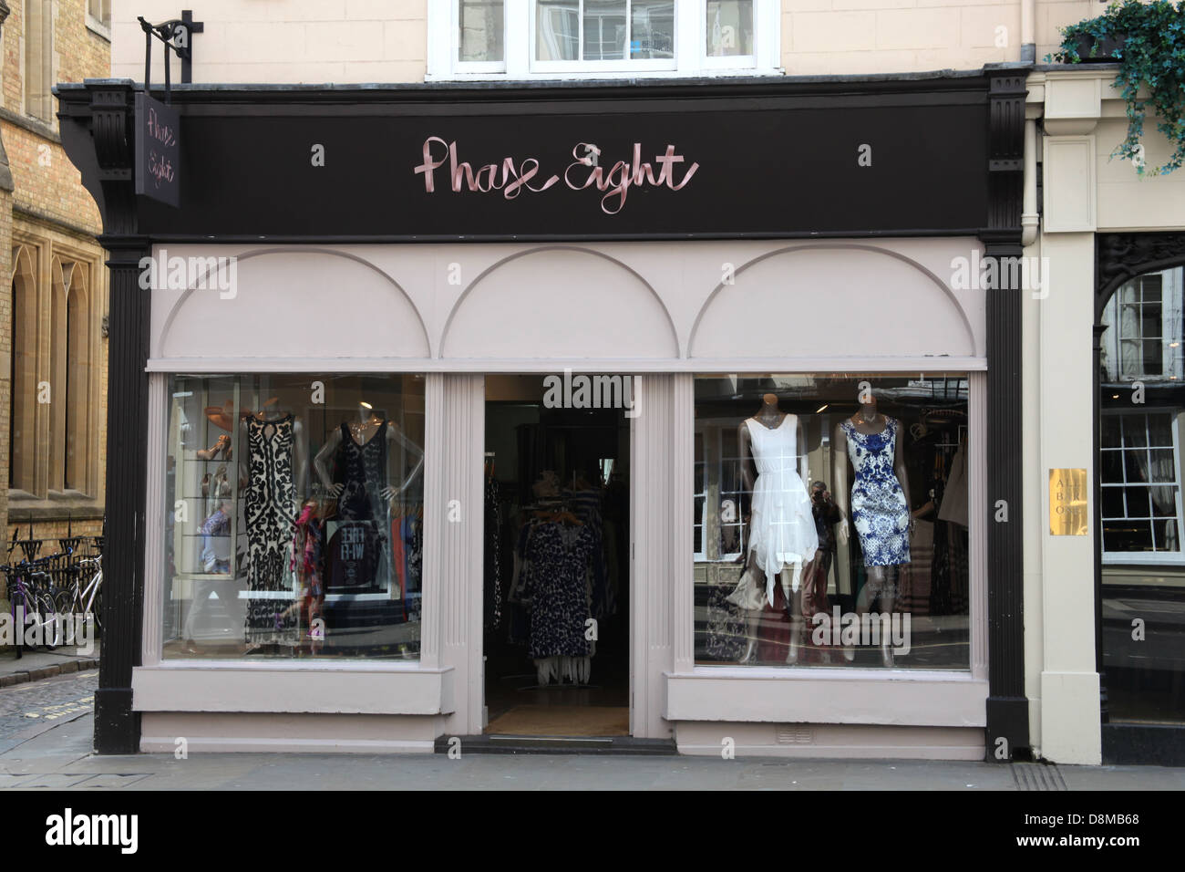 Phase Eight UK clothing store. - Stock Image