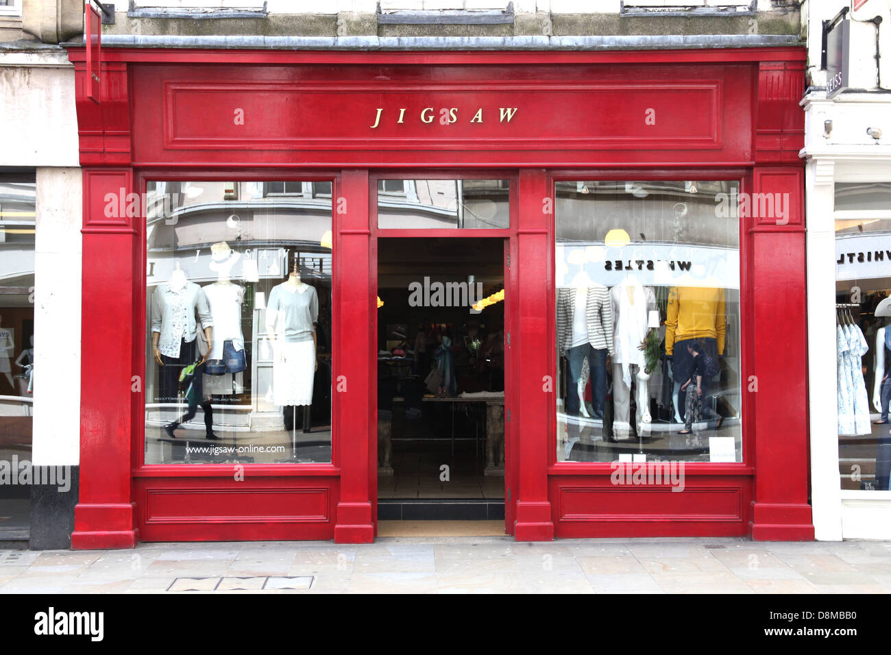 Jigsaw, High street fashion store. - Stock Image