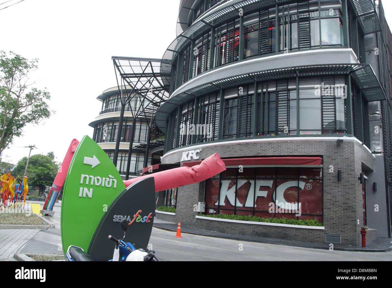 Sena fest the newest shopping in Thonburi area in Bangkok , Thailand - Stock Image