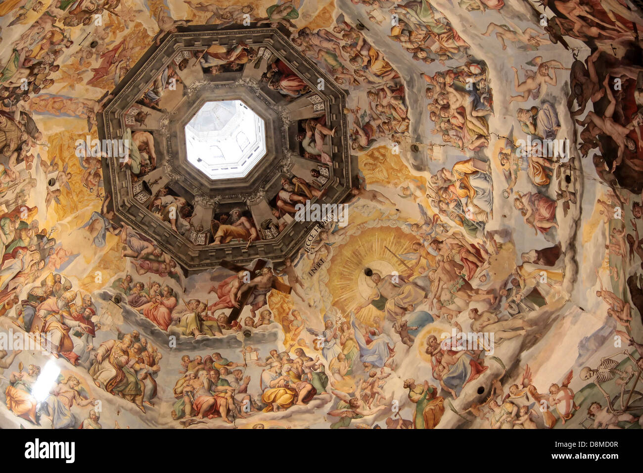 Dome Of The Cathedral Santa Maria Del Fiore In Florence Stock Photo Alamy