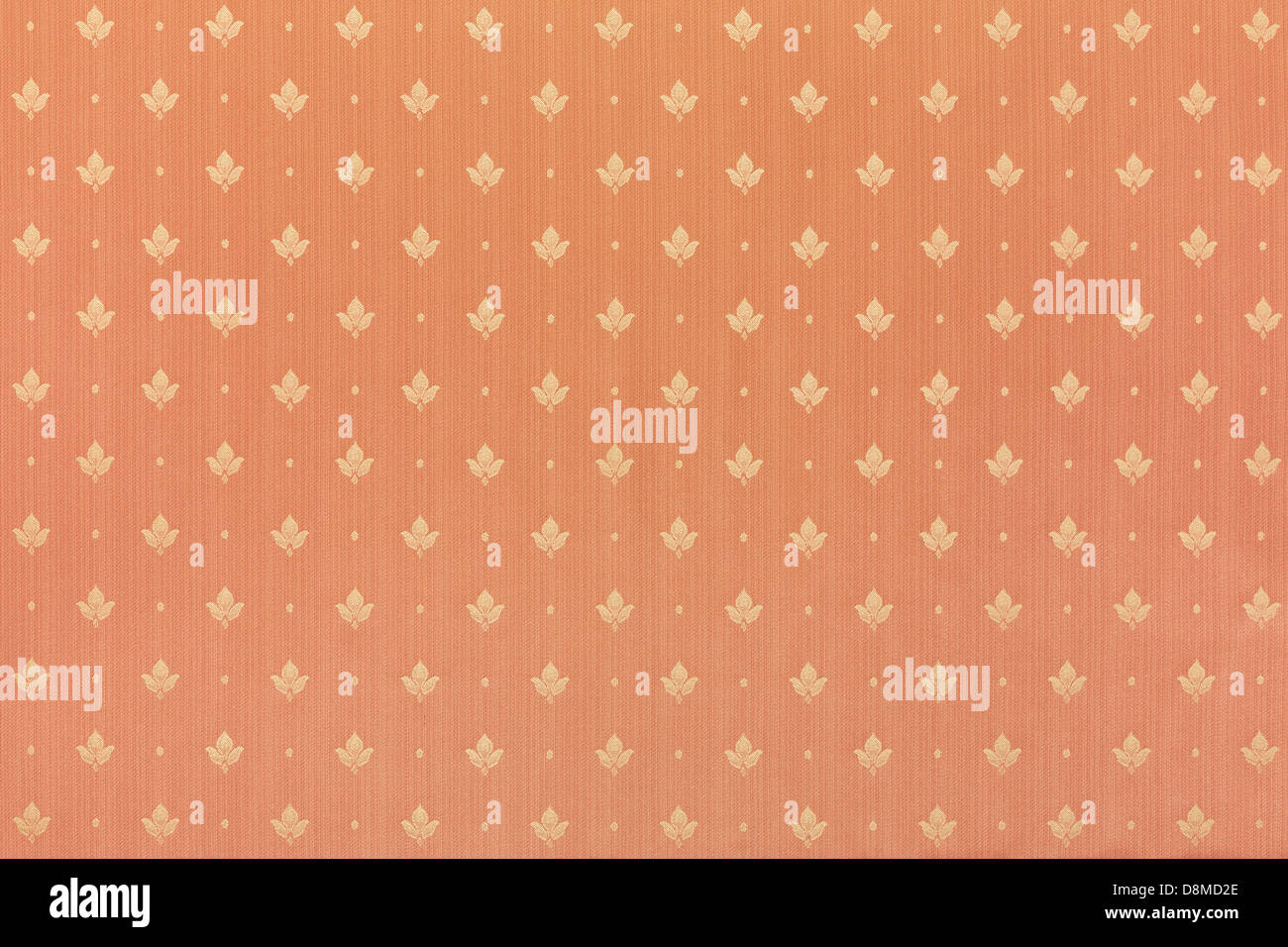 Floral abstract brown wallpaper texture background - Stock Image