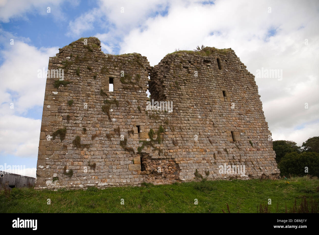 Thirlwall Castle, Greenhead - Stock Image