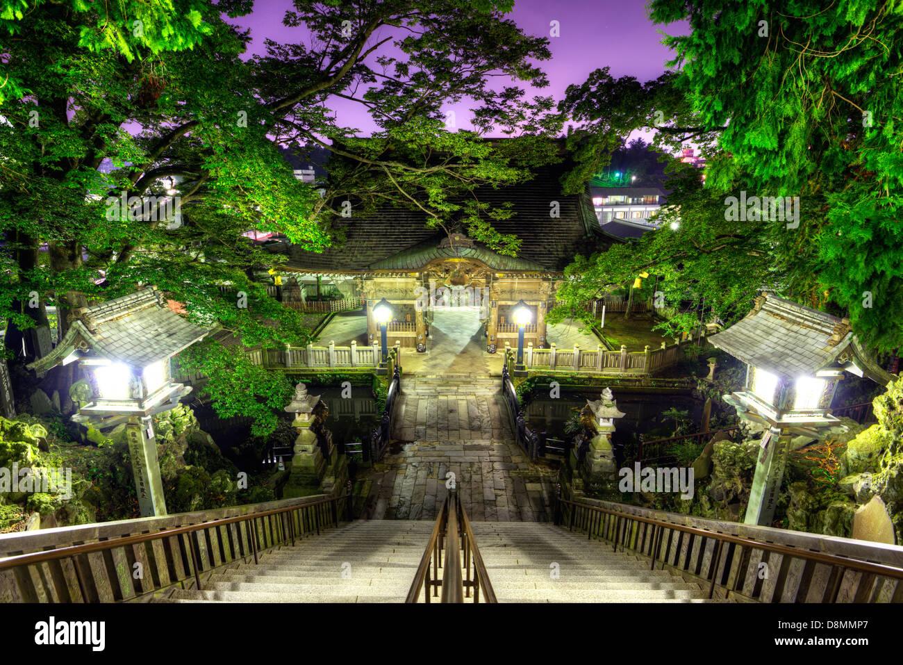 Narita Shrine in Narita, Japan founded in 940 A.D. Stock Photo
