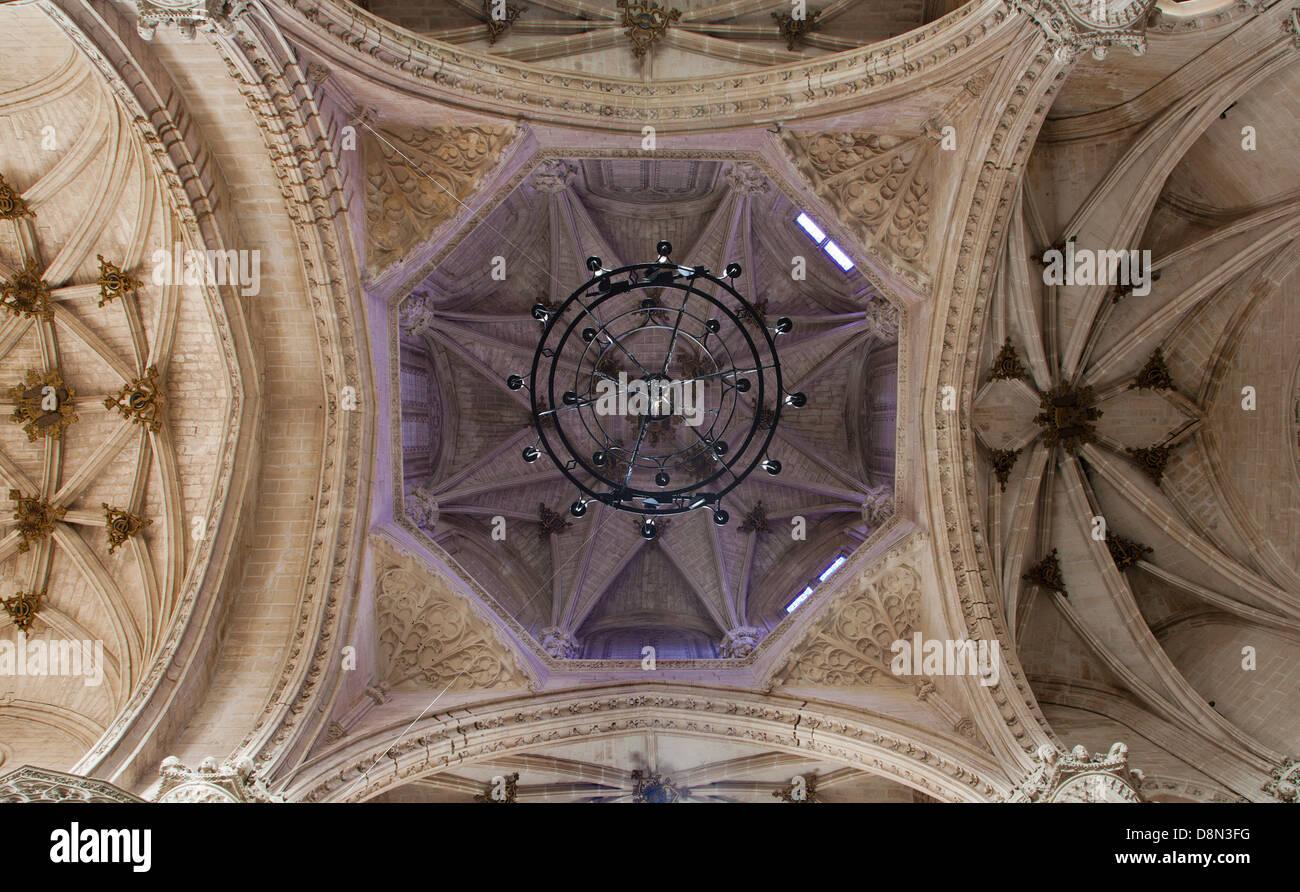 TOLEDO - MARCH 8: Gothic cupola of Monasterio San Juan de los Reyes - Stock Image