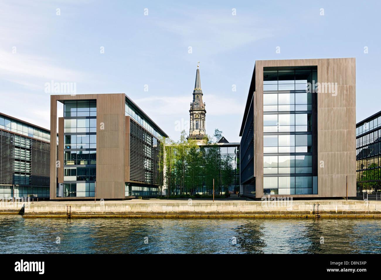 Modern architecture, Christianshavn, Copenhagen, Denmark, Europe - Stock Image