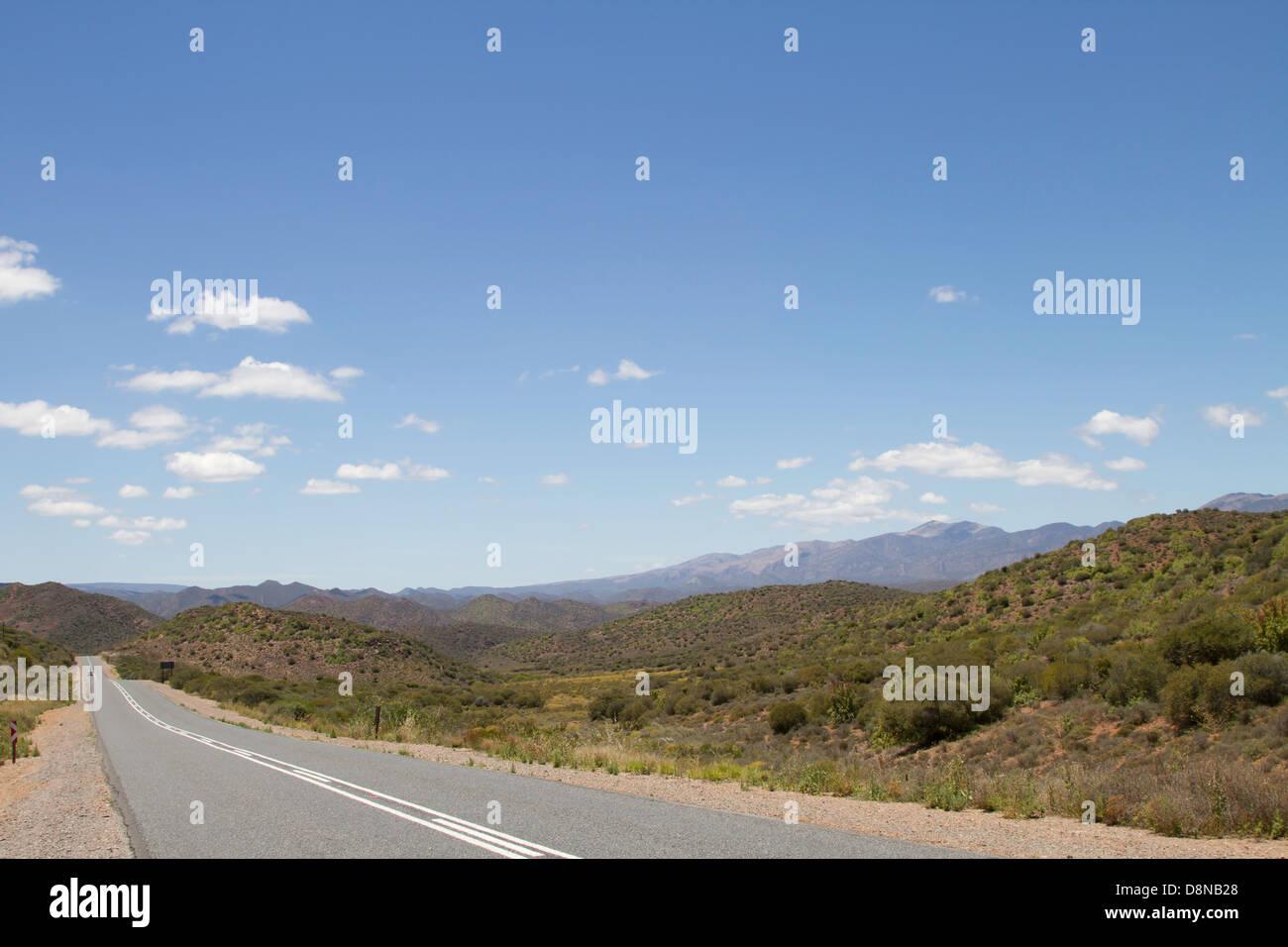 Road to Ladismith - Stock Image