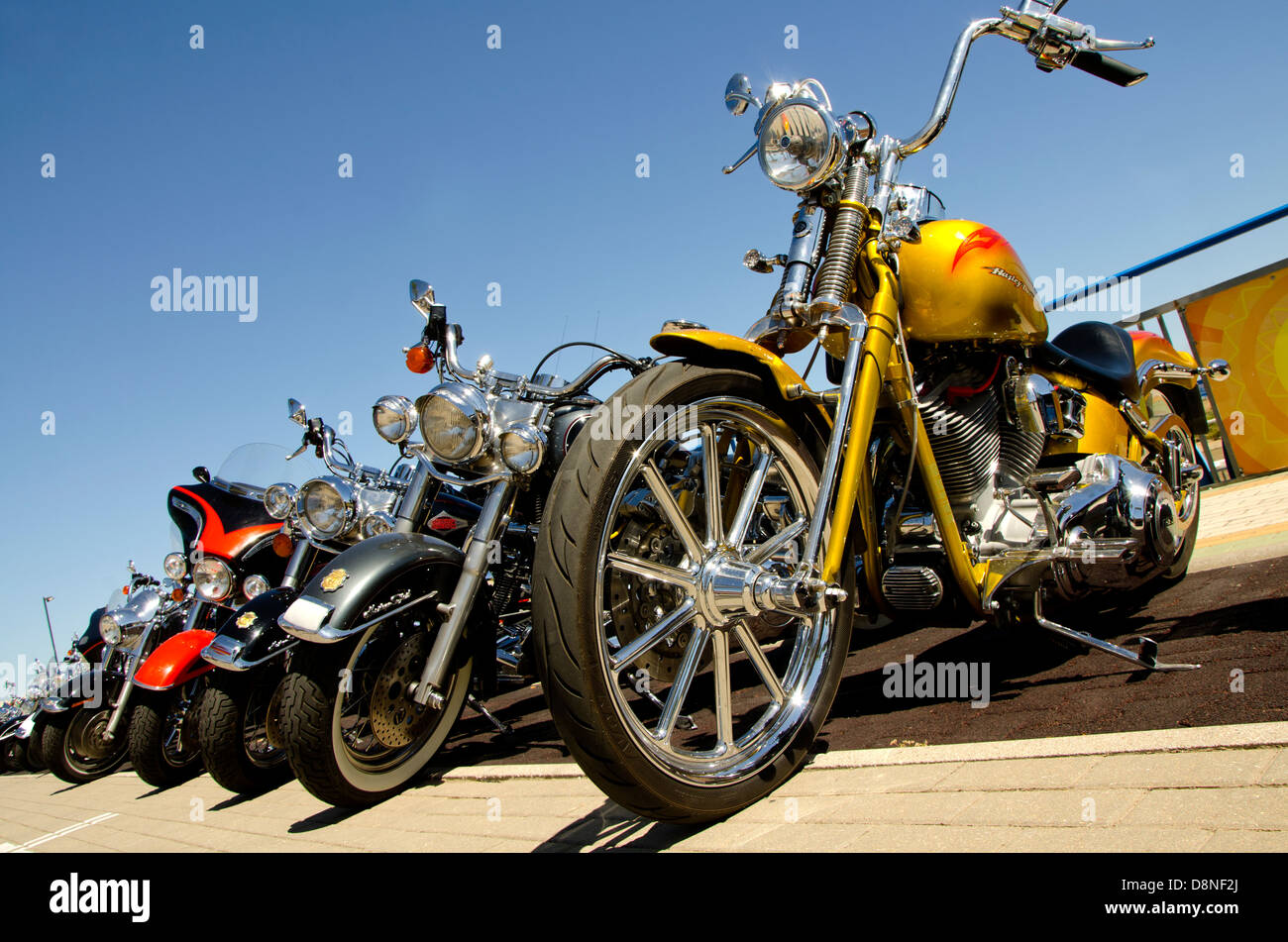 Harley Davidson Stock: Bikers Harley Davidson Stock Photos & Bikers Harley