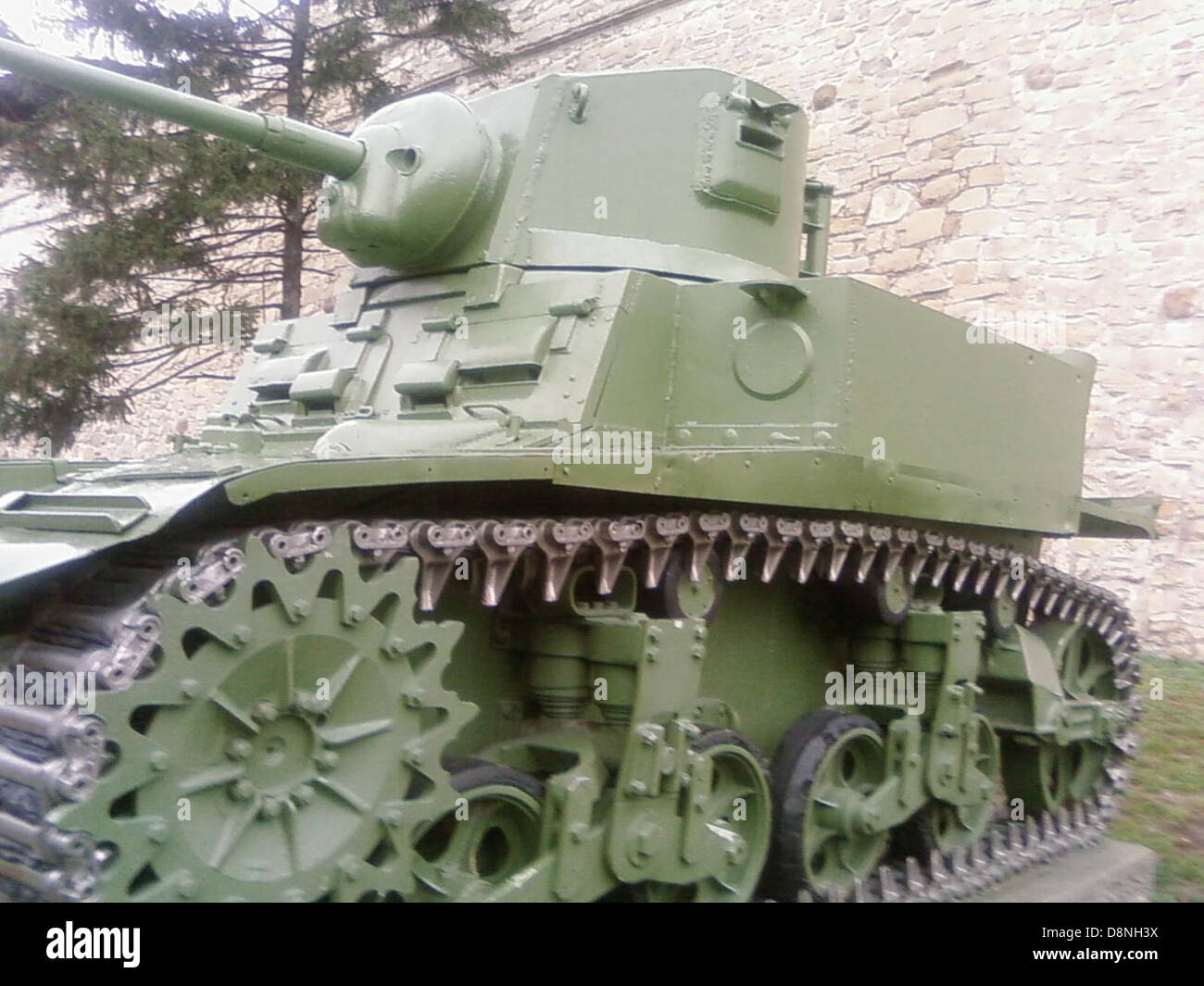World war two fight tank. - Stock Image