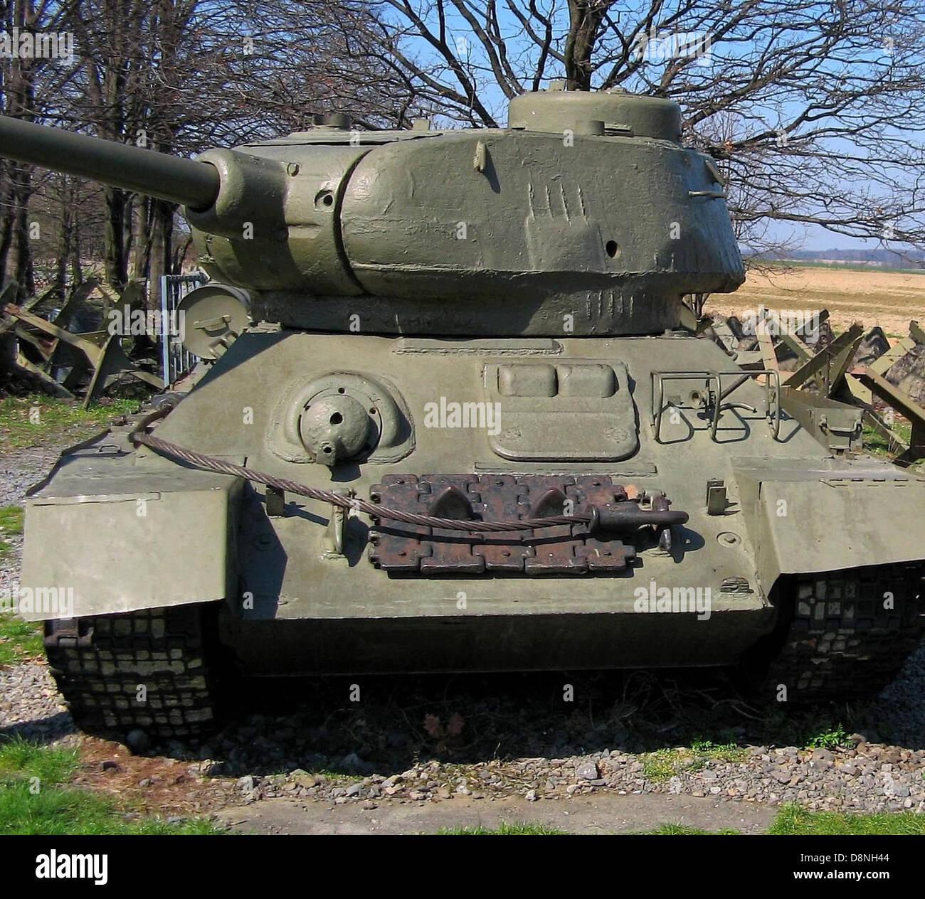 World war two tank. - Stock Image