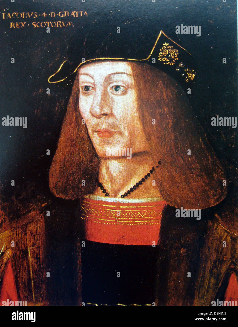 King of Scots, James IV Stock Photo