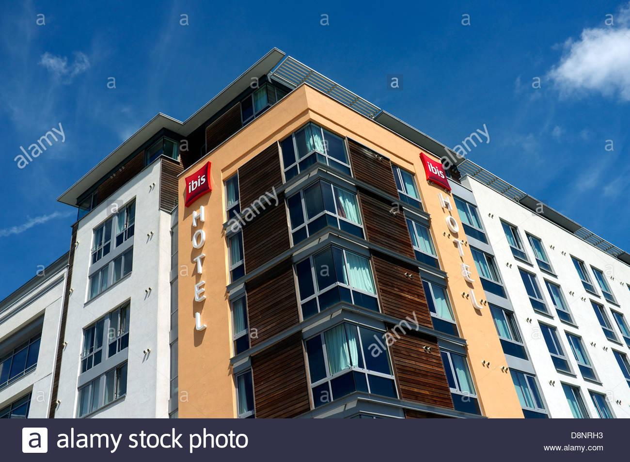 Ibis Hotel in Temple Quay, Bristol, UK. - Stock Image