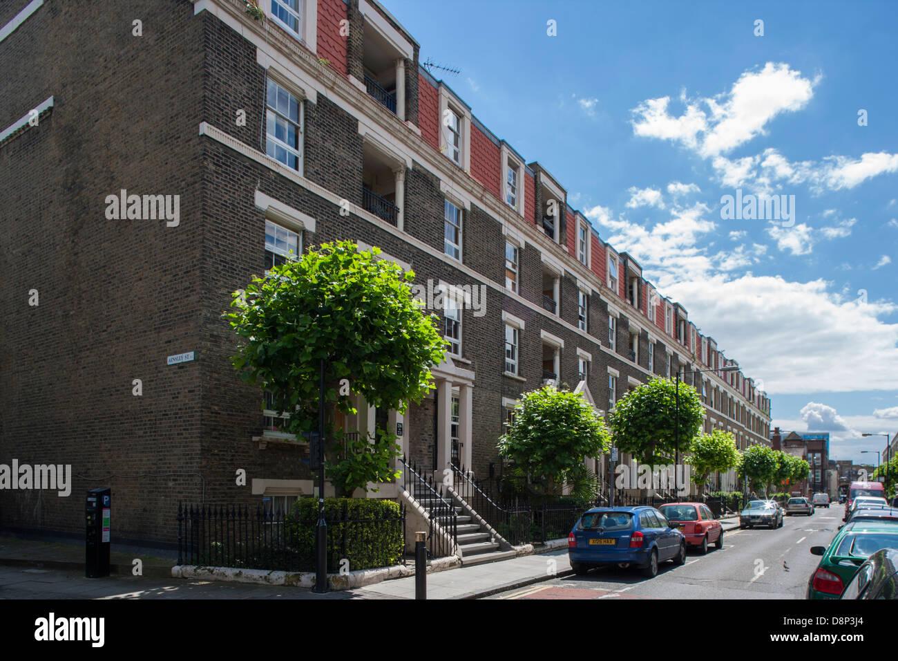 Wilmot Street Bethnal Green London - Stock Image