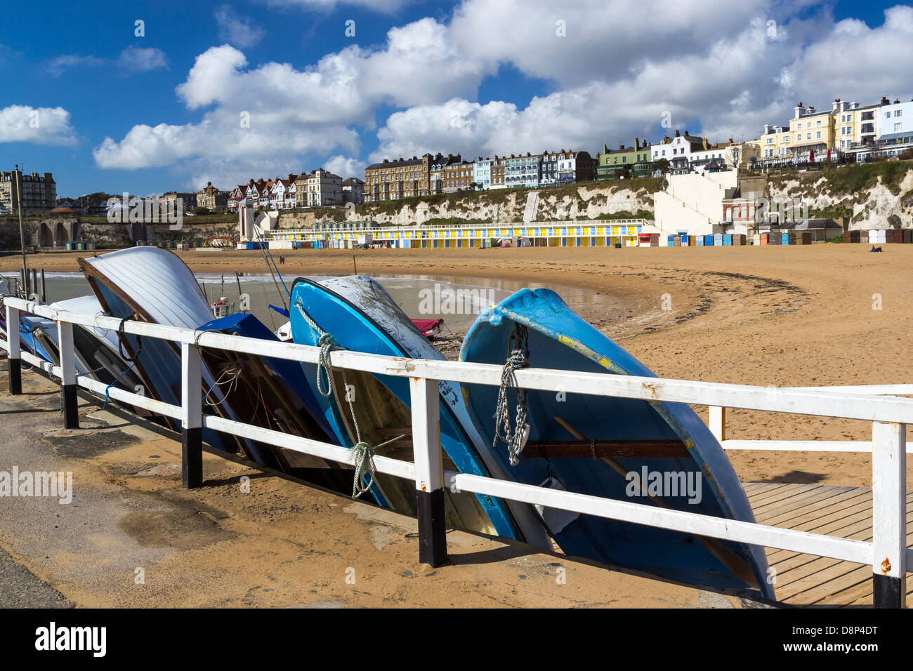 Viking Bay at Broadstairs, on the Isle of Thanet, Kent England UK Stock Photo