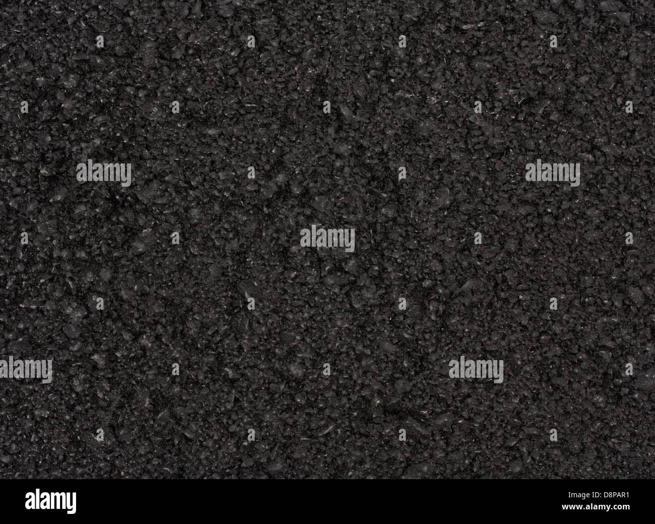 Freshly surfaced tarmac or asphalt road great background for resurfacing industry or motor sport - Stock Image